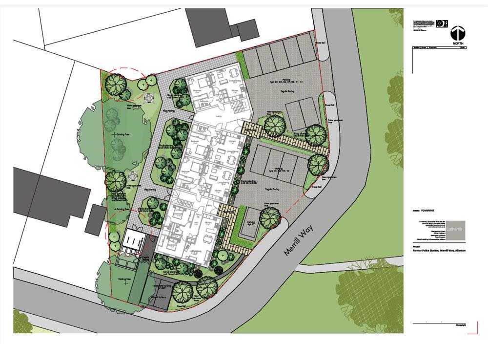 Merrill Way Site Plan